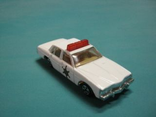 dukes of hazzard police toy car