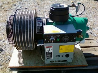 10 HP Sullair ES 6 Rotary Air Compressor