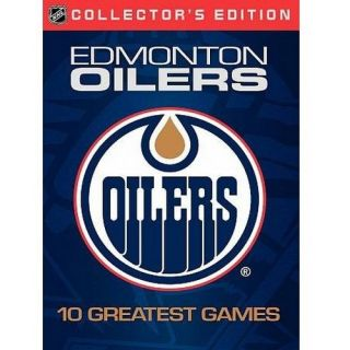 Home Video WARDVTM1370 NHL Edmonton Oilers Greatest Games DVD 2008