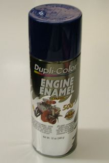 dupli color de1606 ford dark blue engine spray paint brand dupli color