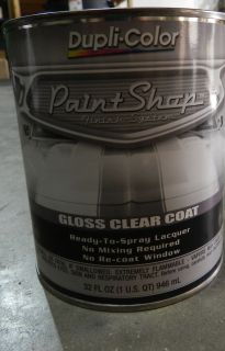 Dupli Color Paint Shop Gloss Clear Coat BSP300
