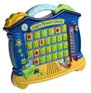 Leap Frog Leaps Phonics Library Learning Electronic Toy