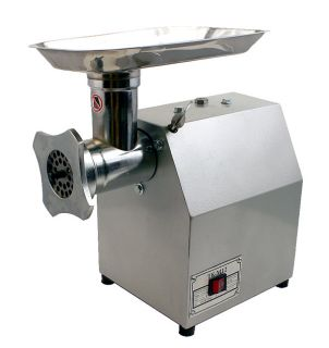 New Mtn 1HP 12 Commercial Electric Meat Sauage Grinder