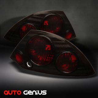 00 02 Mitsubishi Eclipse JDM Smoked altezza Tail Lights Rear Brake