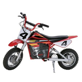 Razor MX500 Dirt Rocket Electric Motocross Bike Red