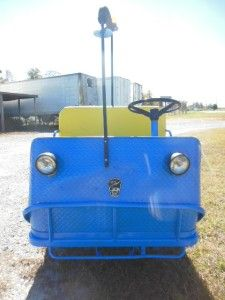Taylor Dunn B2 48 Electric Utility Cart Vehicle Tugger