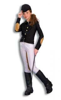 Equestrian Jockey Horse Rider Costume Child Medium New