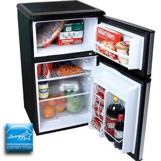 Refrigerator & Freezer, Double Door Stainless Steel Energy Star Fridge