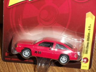 Johnny Lightning Forever 85 Chevrolet Citation x 11 Red