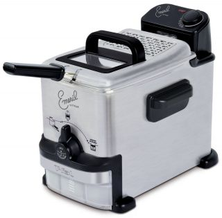 Emeril by T fal FR702D001 1 8 Liter Deep Fryer with Integrated Oil