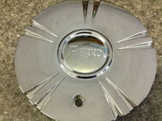EIGHT MILE FIERRO COLISEUM CHROME WHEEL CENTER HUB CAP ONE ONLY NEW