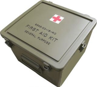 U s Military First Aid Kit Container Empty