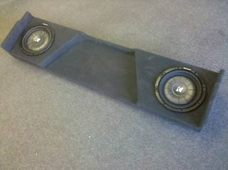 2007 2011 Chevy Silverado Ext Cab Subwoofer Enclosure