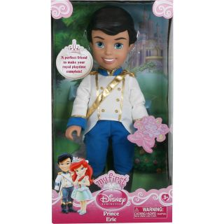 Disney Princess Ariels 15 inch Toddler Prince Doll Prince Eric