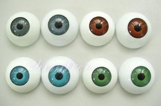 24pcs Plastic Fake Eyes Eyeballs for Mask Doll Bear Toy