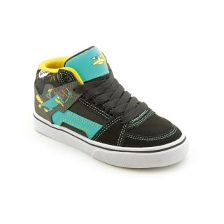 Etnies Phineas and Ferb RVM Vulc Youth Kids Boys Size 13 Black Skate