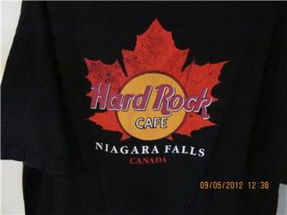 Hard Rock Cafe Niagara Falls Canada Authenic Mens T Shirt XXL