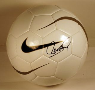 Fernando Torres Signed Auto Soccer Ball Spain World Cup