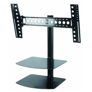Tilt Swivel Wall Mount for 32 55 inch LED LCD Plasma 3D HDTV w 2 AV