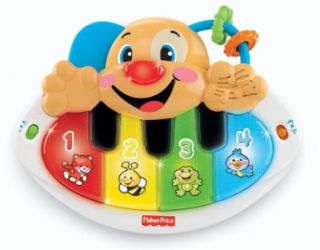Fisher Price Laugh Learn Puppy Piano New in Box