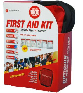 First Aid Kit Emergency Large Medical Kit 1000 Items