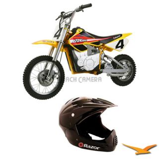 Razor MX650 Dirt Rocket Electric Motocross Bike with Razor Full Face