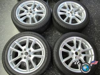 Four 09 11 Nissan Maxima Factory 18 Wheels Tires Altima Rims 62511 245