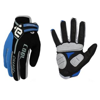 Thermal Reflex Gel Bike Full Finger Glove cycling Shock pads glove