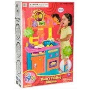 Fisher Price Dora The Explorer Talking Kitchen New MISB
