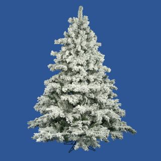 other items 7 5 flocked alaskan artificial christmas tree unlit