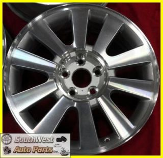 08 09 Ford Taurus x 18 Machined Silver Wheels New Take Factory Rims