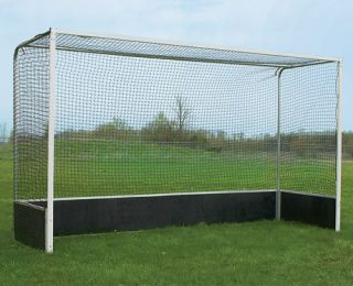5mm Heavy Duty Hockey Goal Post Nets Green Pair