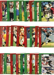 Lot of 25 1997 Topps Unsearched Football Trading Cards 2 NR