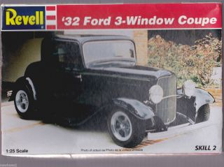 Revell 32 Ford 3 Window Coupe Car Model Kit 1996