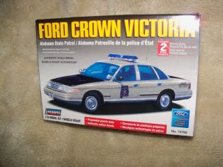 Ford Crown Victoria Alabama State Patrol Car Lindberg 1 25 Model Kit