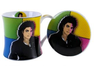 Michael Jackson Retro Pop Art Fine China Coffee Mug Cup New in Gift