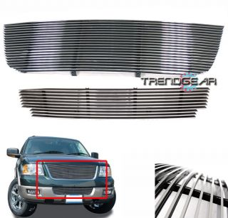 03 06 FORD EXPEDITION SUV 4DR V8 FRONT UPPER +BUMPER BILLET GRILLE