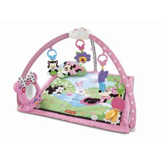 Fisher Price Disney Baby Minnies Twinkling Tea Party Play Gym