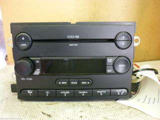05 06 Ford Freestyle Fusion Expedition Radio 6 CD  5F9T 18C815 GB