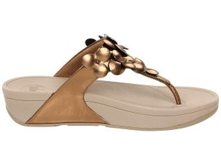 FitFlop Fleur Womens Leather Thong Sandal Shoes All Sizes
