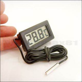 Mini Refrigerator Fridge Freezer Thermometer Temperature