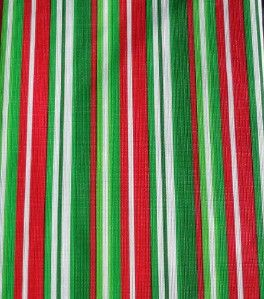 winter red green white stripes vinyl tablecloth flannel back all sizes