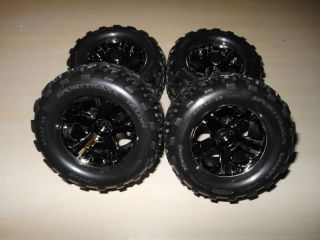 Traxxas Stampede 4wd four wheel drive tires and wheels brand new take