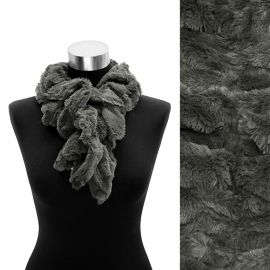FAUX FUR SCARF in Scarves & Wraps