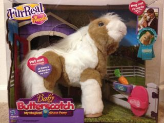 FURREAL FRIENDS BABY BUTTERSCOTCH PONY New My Magical Show Horse Fur
