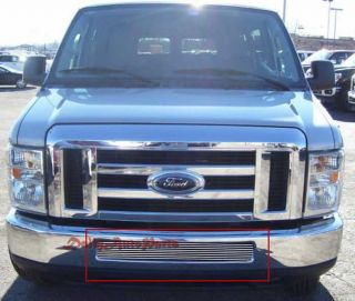 08 09 10 Ford Econoline Van E Series Lower Aluminum Billet Grille
