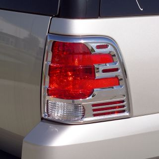 401803 Putco Chrome Tail Light Covers Ford Expedition 2003 2006