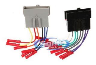 Scosche FD02BCB 1986 Up Ford Stereo Wiring Harness w/ Connectors