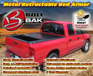 Bak Rollbak G2 Retractable Tonneau Truck Bed Cover That Fits Many