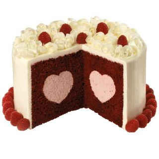 Wilton Heart Tasty Fill Cake Pan Fancy Filled Valentine